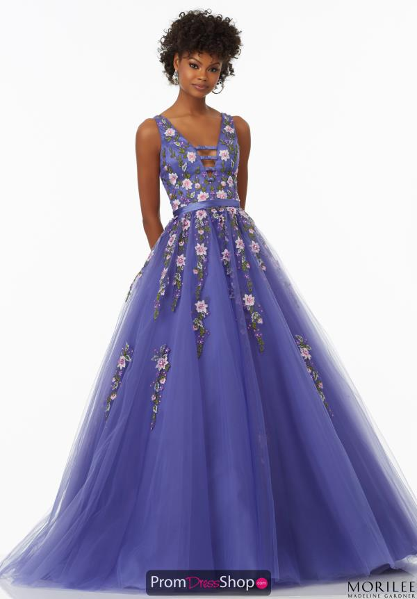 Long A Line Mori Lee Dress 99131