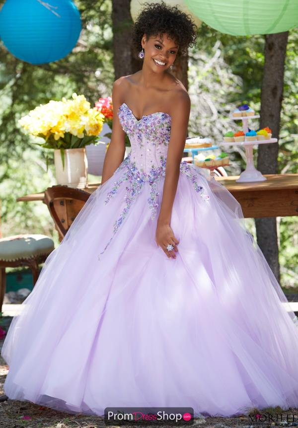 Strapless Sweet 16 Beaded Mori Lee Dress 99134
