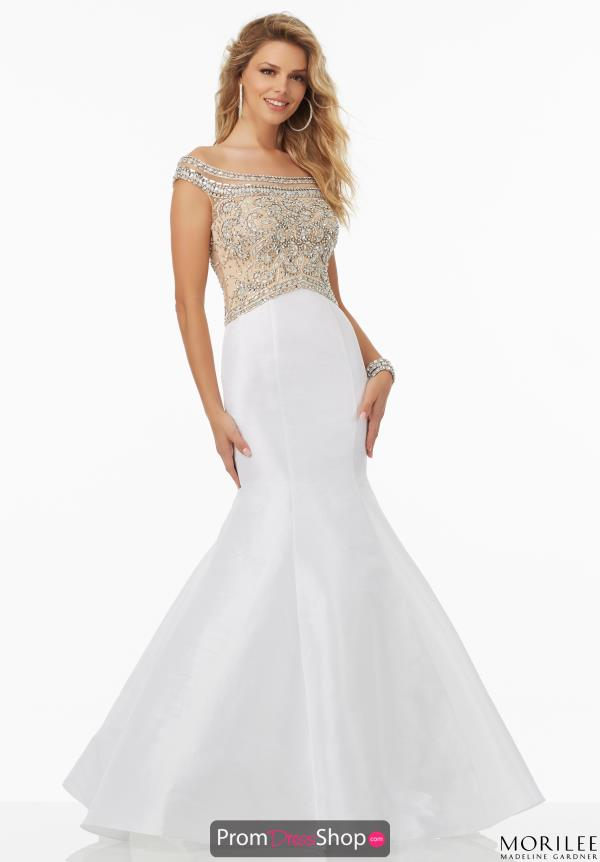 Mori Lee Long Fitted Dress 99158