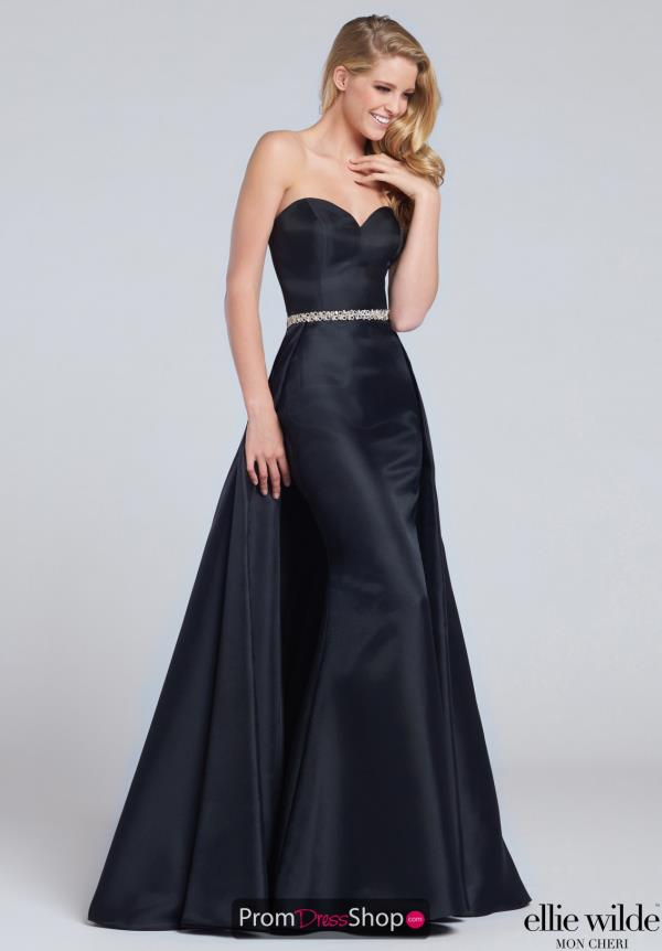 Strapless Long Ellie Wilde Dress EW117051