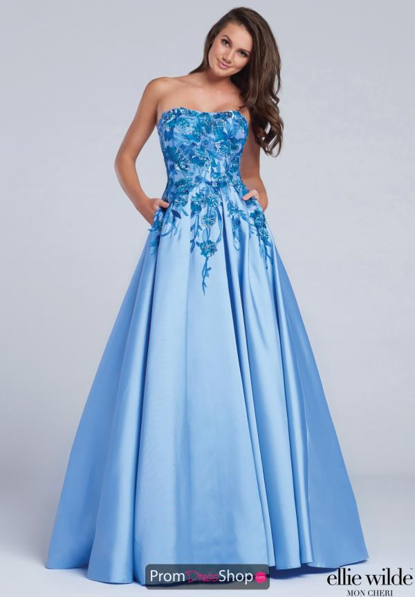 Ellie Wilde EW117066 at Prom Dress Shop
