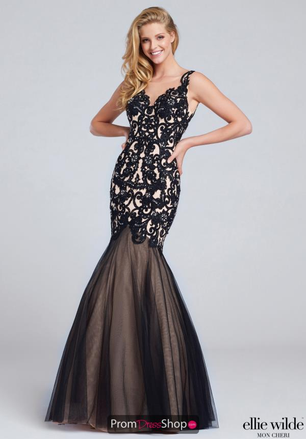 Ellie Wilde EW117100 at Prom Dress Shop