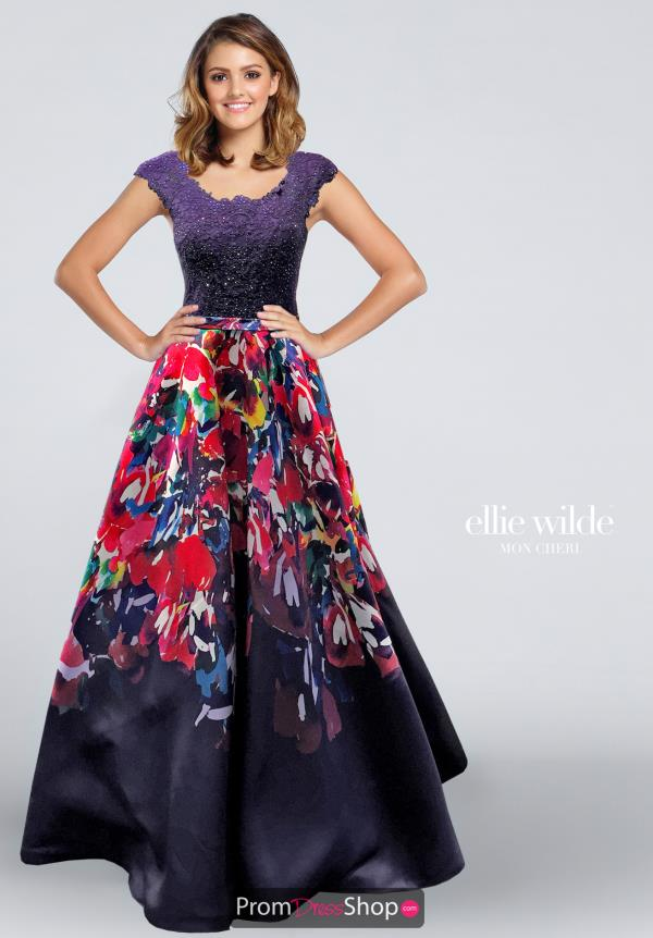 Ellie Wilde EW117171 at Prom Dress Shop
