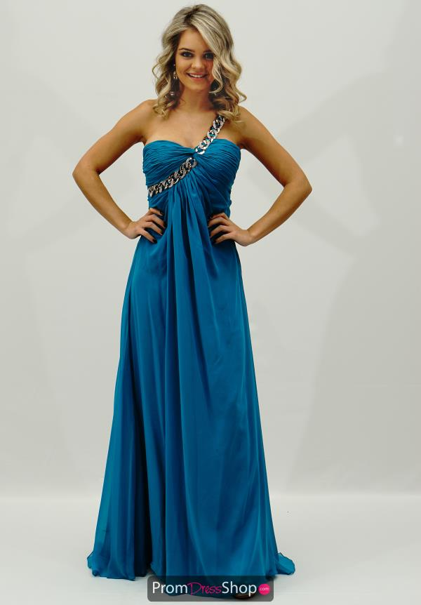 Jasz Couture Long Flowy Dress 4315