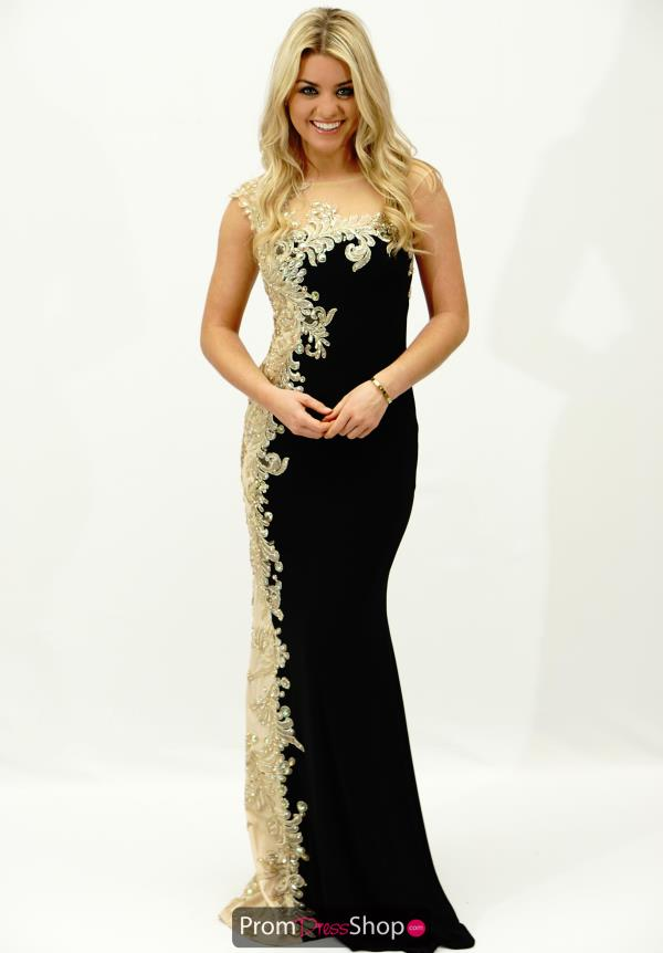 Stunning Cap Sleeved JVN by Jovani Dress JVN98300