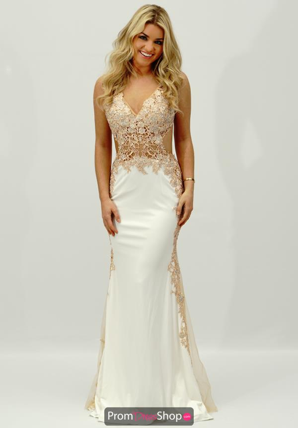 JVN by Jovani Jersey Fitted Dress JVN33488