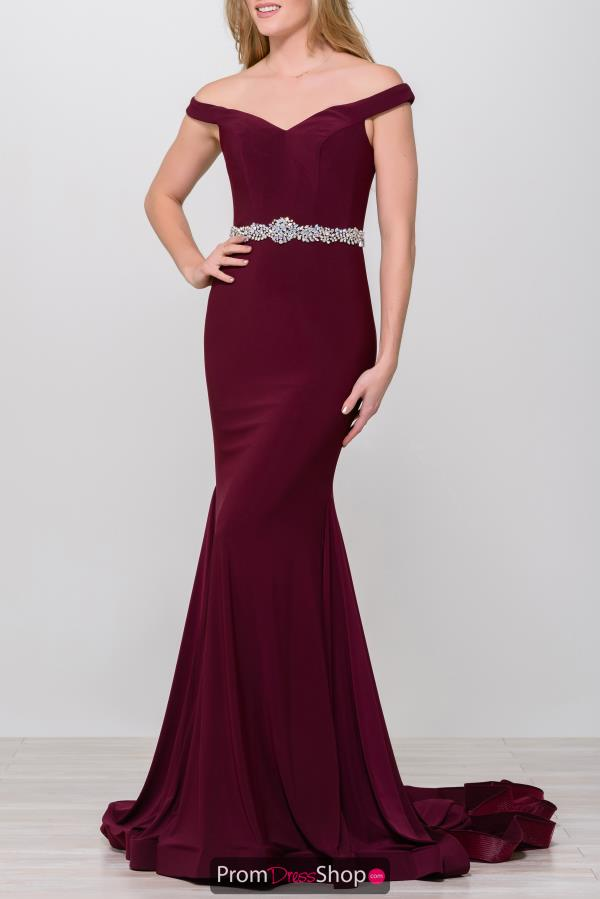 Jovani Full Figured Sweetheart Dress 49254