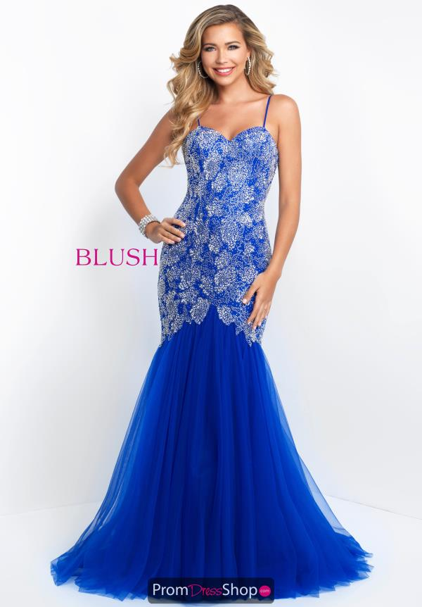 Blush Sweetheart Neckline Mermaid Dress 11582