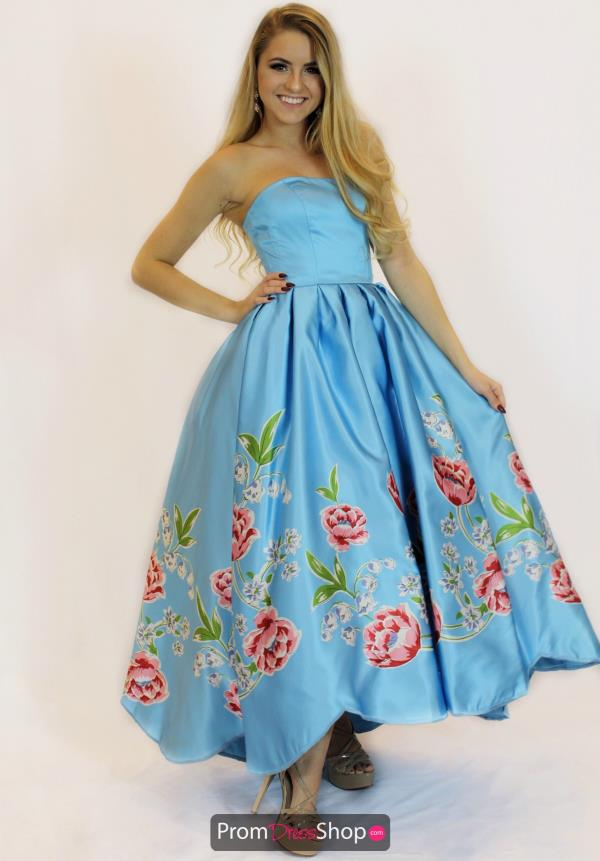 Sherri Hill Long Satin Dress 51139