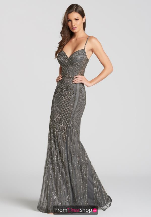 Ellie Wilde Beaded Long Dress EW118011