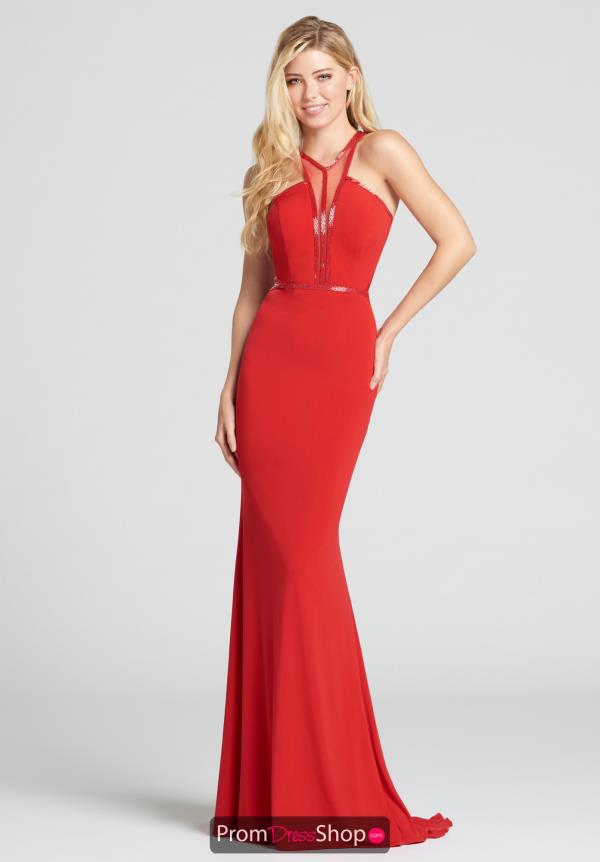 Ellie Wilde Fitted Long Dress EW118022