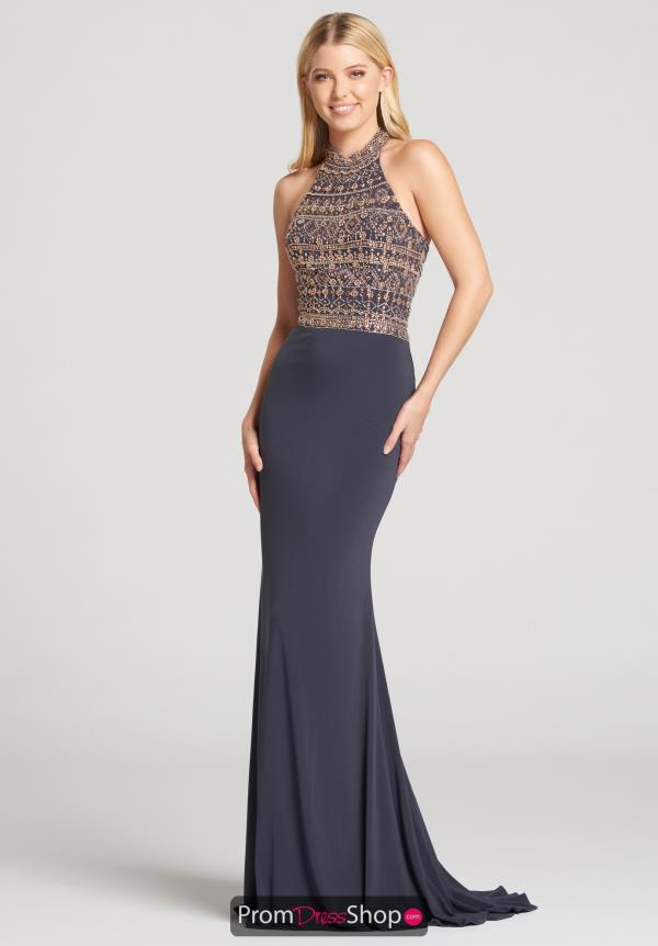 Ellie Wilde Halter Fitted Beaded EW118072