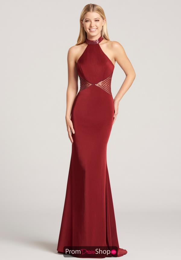 Ellie Wilde Fitted Long Dress EW118141