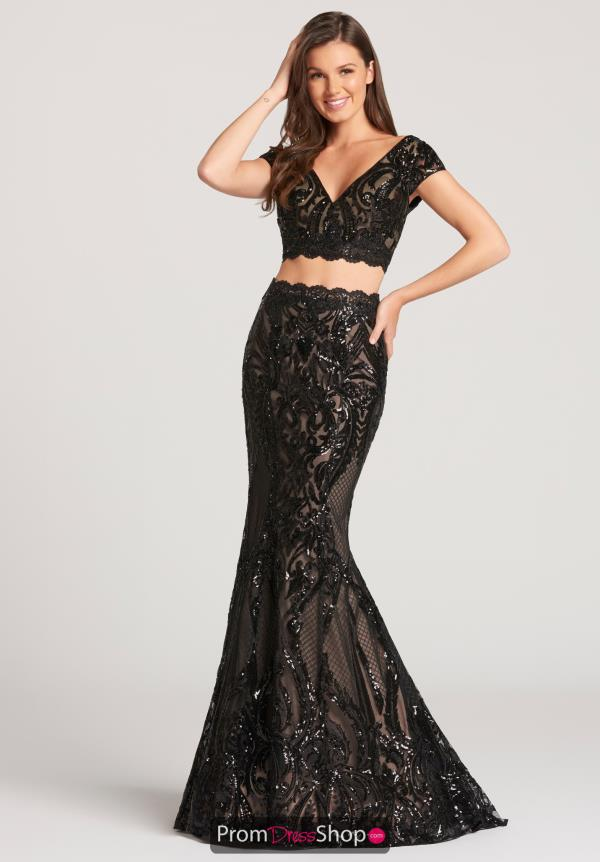 Ellie Wilde Lace Fitted Dress EW118170