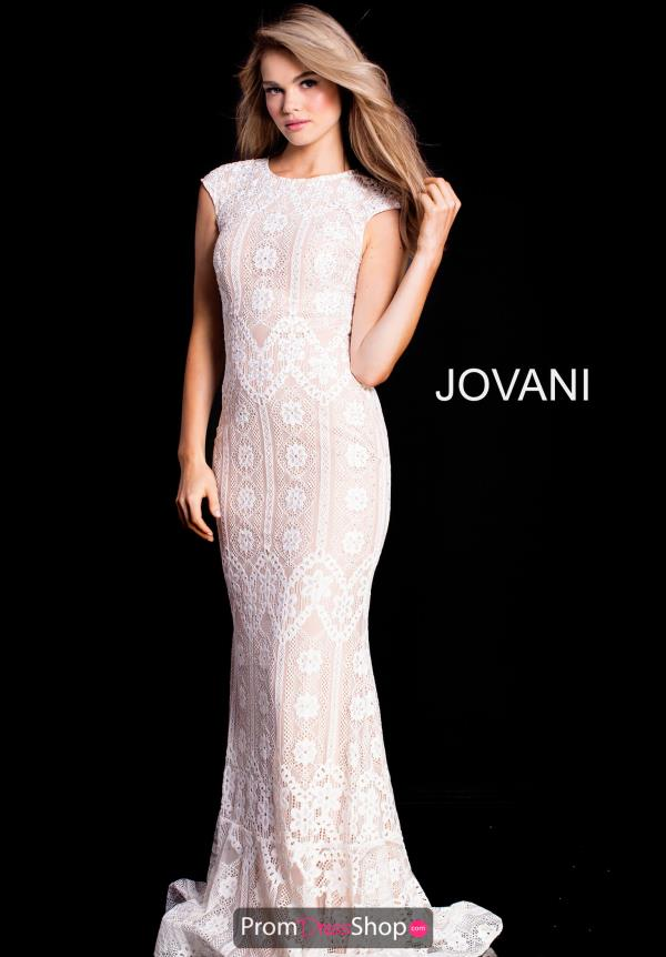 Jovani High Neckline Fitted Dress 52093