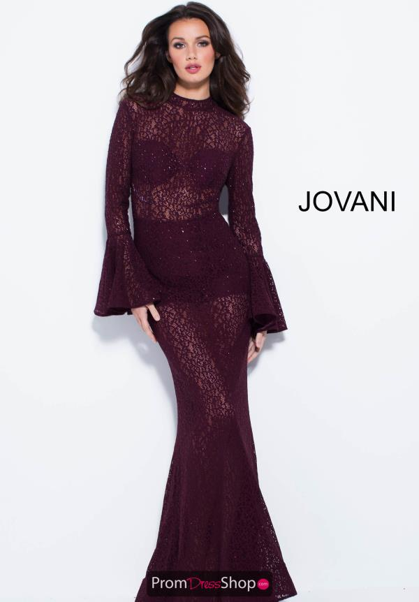Jovani Long Romper Dress 58375