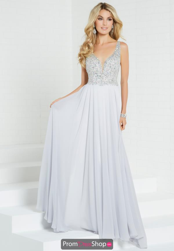 Tiffany Beaded Chiffon Dress 16265