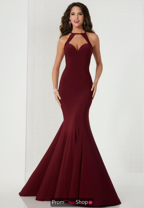 Tiffany Sexy Back Fitted Dress 46114