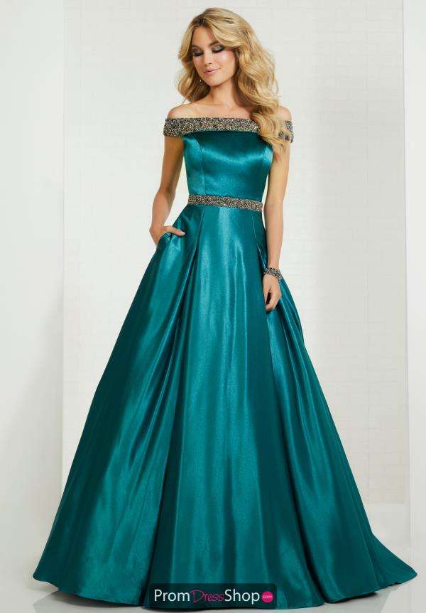 Tiffany A Line Beaded Dress 46115