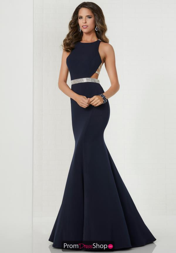 Tiffany Fitted Long Dress 46117
