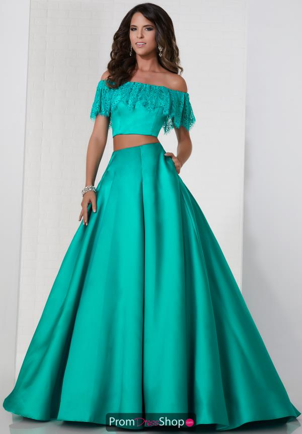Tiffany Two Piece Cap Sleeve Dress 46134
