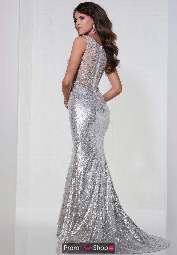 Tiffany Fitted Sequins Dress 46135