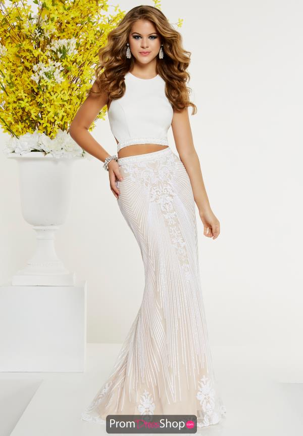 Panoply Beaded Two Piece Dress 14892