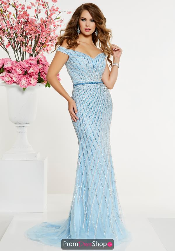 Panoply Cap Sleeved Beaded Dress 14903