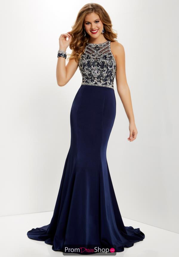 Studio 17 Long Fitted Dress 12656