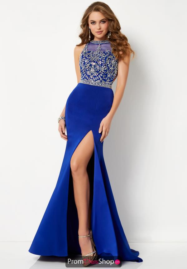 Studio 17 Beaded Long Dress 12658