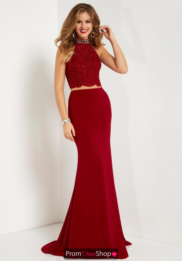 Studio 17 Fitted Long Dress 12663