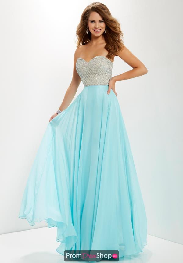 Studio 17 Beaded Long Dress 12670