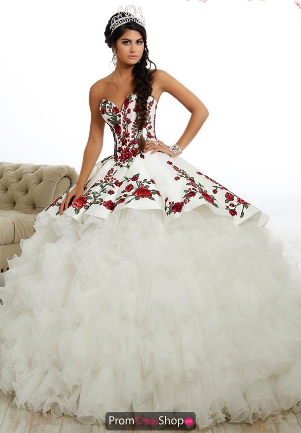 Tiffany Quinceanera Sweetheart Embroidered Gown 26892