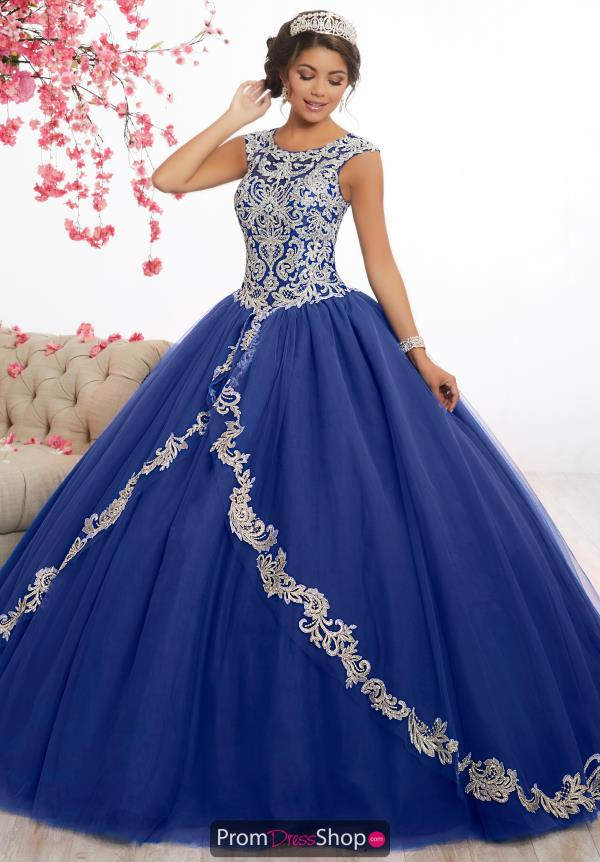 Tiffany Quince Long High Neck 56336 Dress