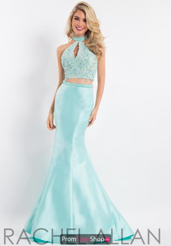 Rachel Allan Mermaid Mikado Dress 6031