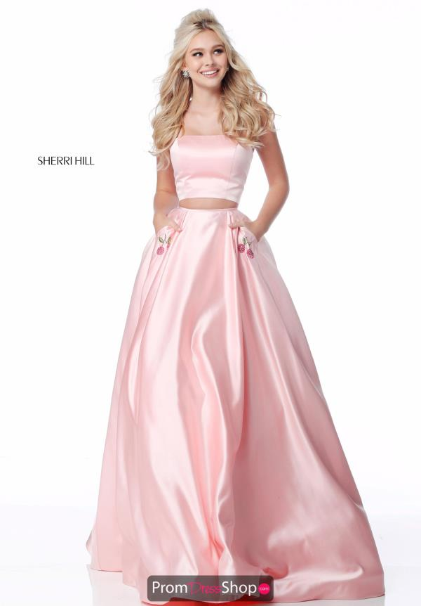 Sherri Hill Two Piece A Line Dress 51813