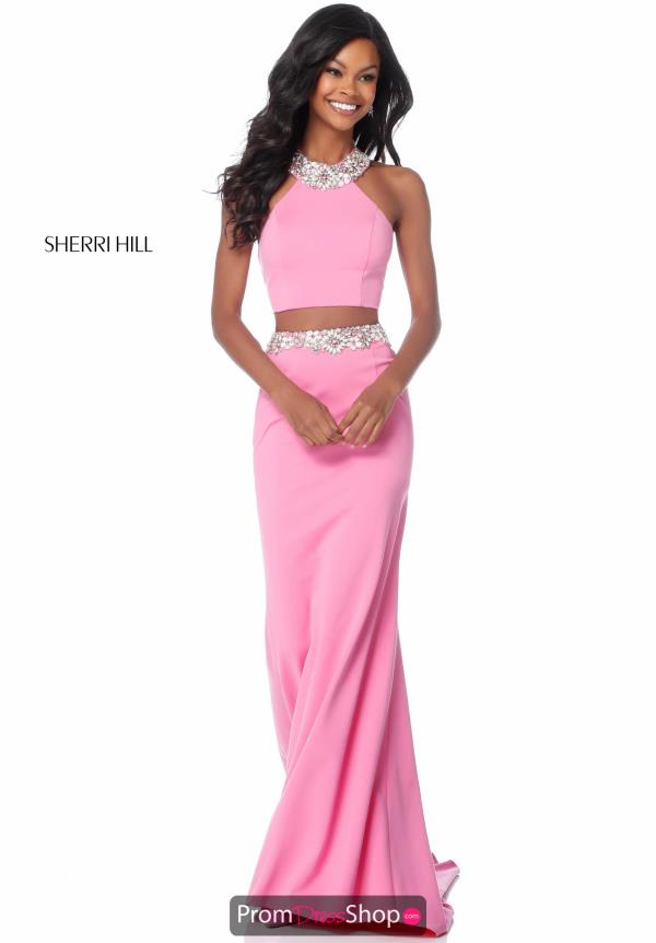 Sherri Hill Two Piece Fitted Dress 51911