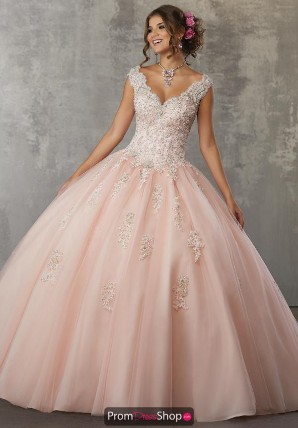 Vizcaya Quinceanera Beaded Ball Gown 60033