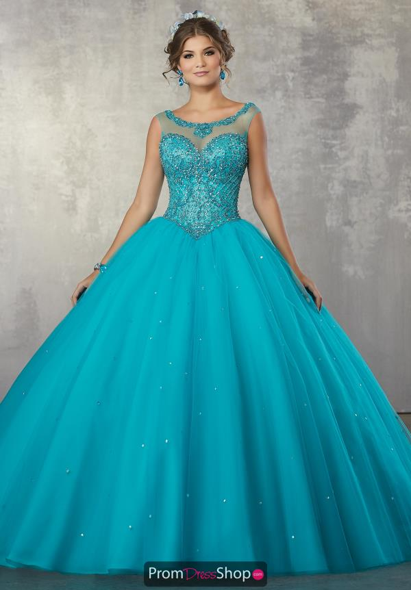 Vizcaya Beaded Quinceanera Gown 60036