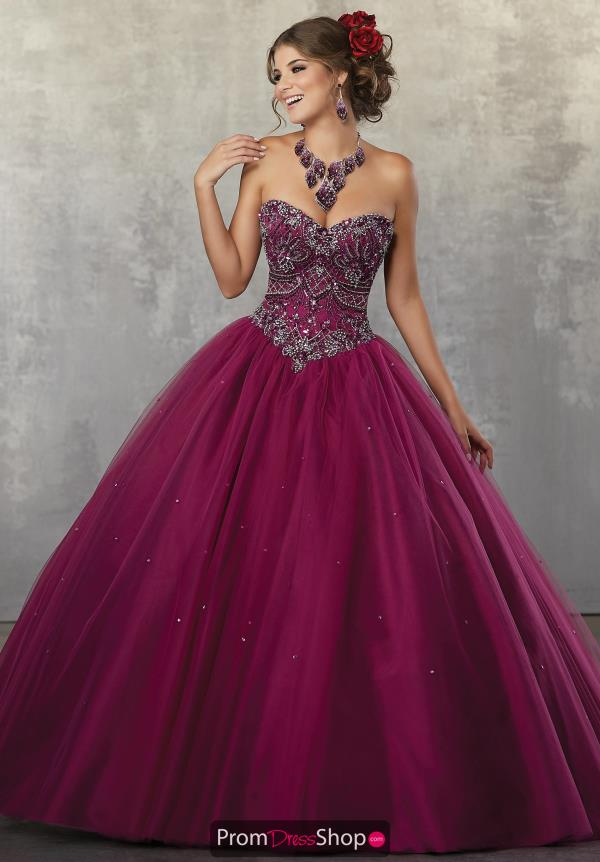 Vizcaya Quinceanera Corset Lace Up Ball Gown 60039