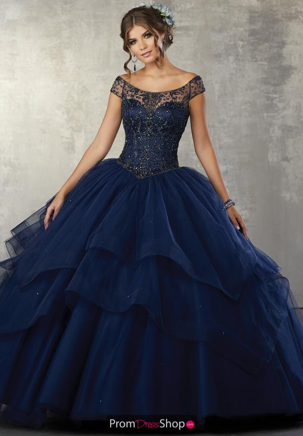 Vizcaya Quinceanera Tulle Off The Shoulder Gown 89172