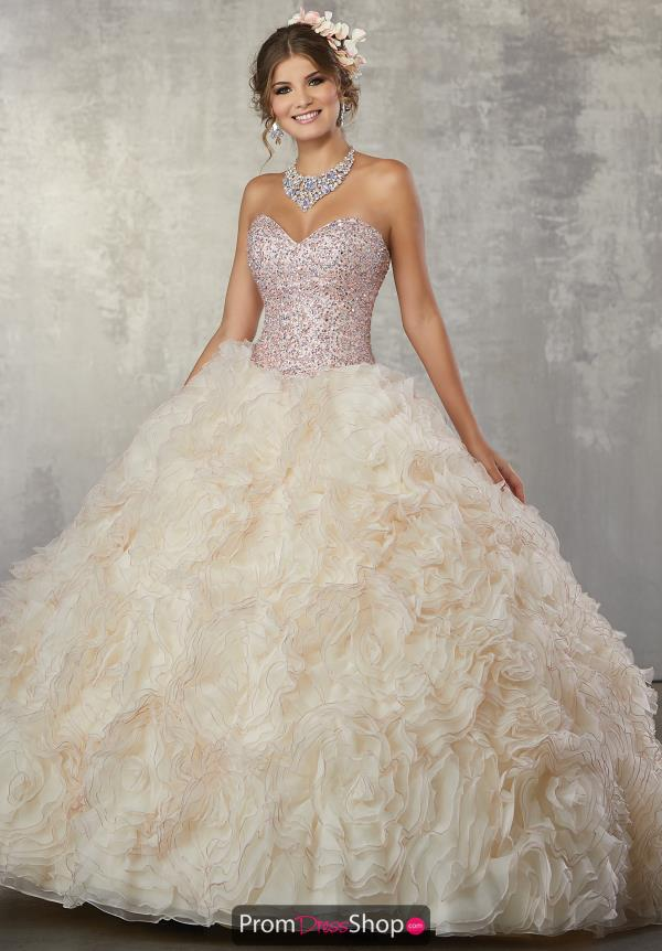 Vizcaya Quinceanera Ruffled Sweetheart Ball Gown 89173