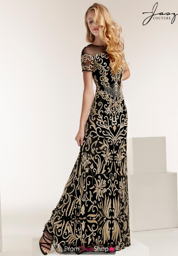 Jasz Couture Full Figured Long Dress 1402
