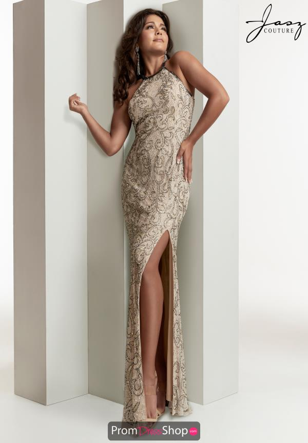 Jasz Couture Long Fitted Dress 1417