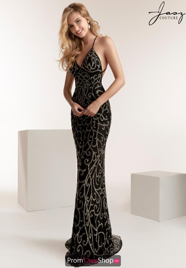 Jasz Couture Open Back Fitted Dress 1440