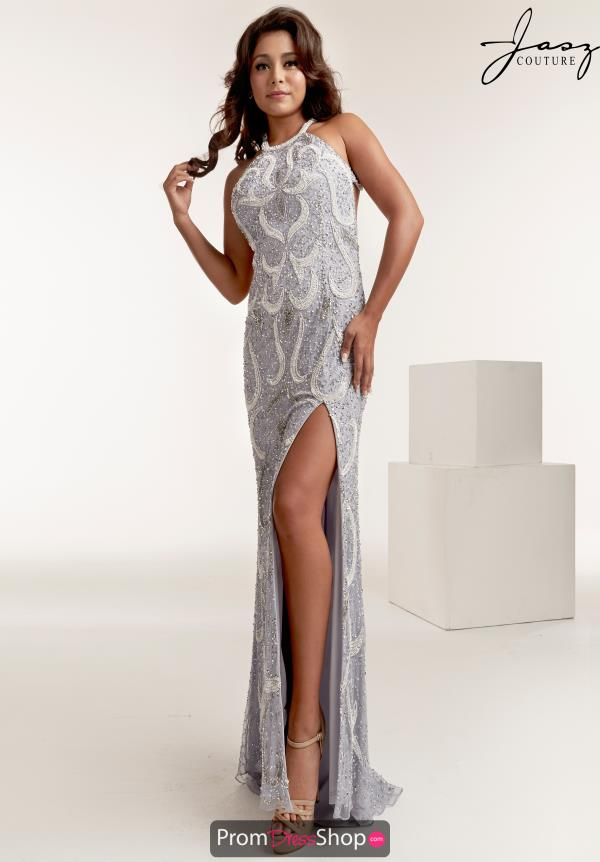 Jasz Couture Halter Beaded Dress 1450