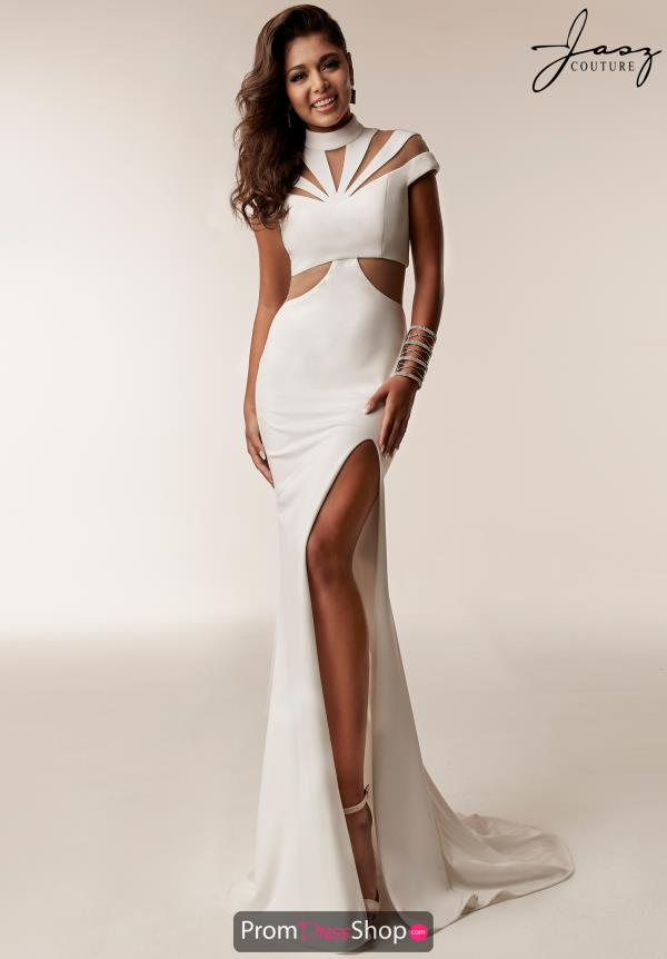 Jasz Couture Neoprene Fitted Dress 6205