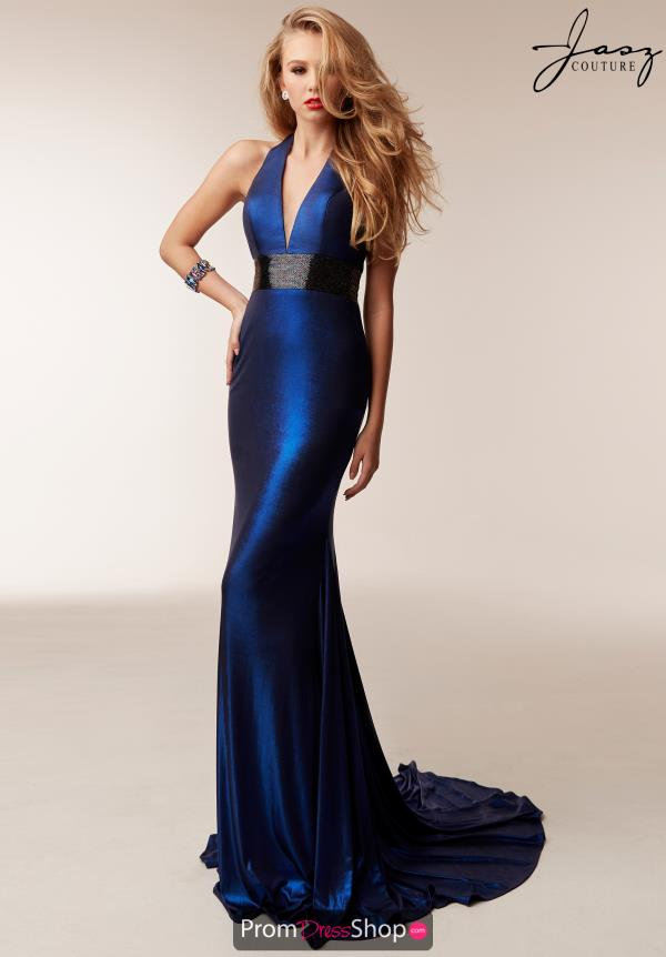Jasz Couture Jersey Fitted Dress 6209