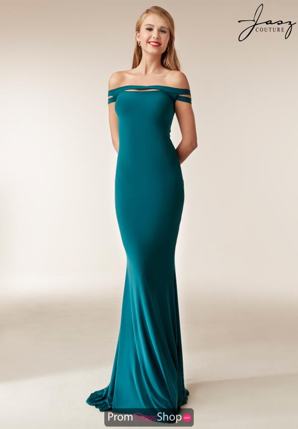 Jasz Couture Cap Sleeve Fitted Dress 6250