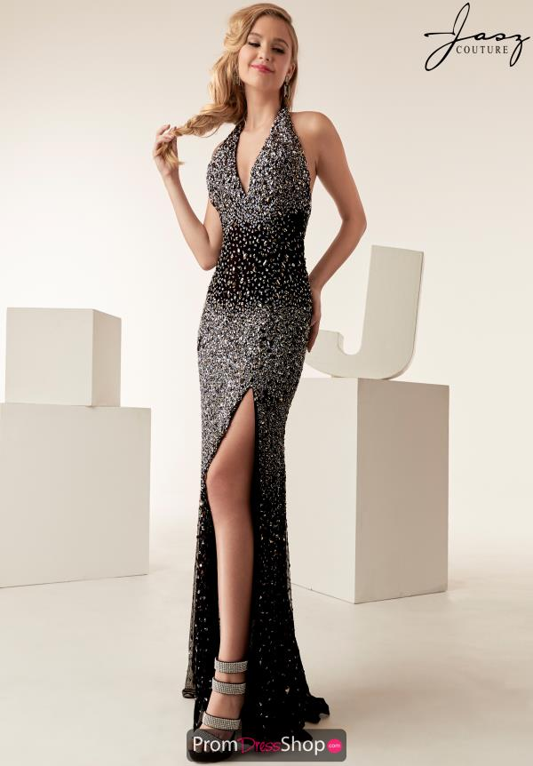 Jasz Couture Open Back Fitted Dress 6269